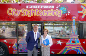 Campaña ACNUR y City Sightseeing